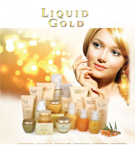 Liquid Gold - Питание и увлажнение увядающей  кожи всех типов